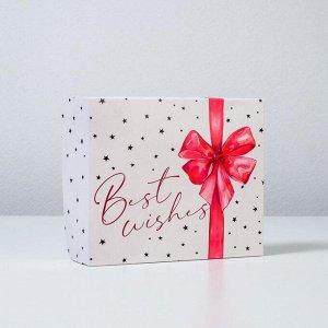 Коробочка для кондитерских изделий Best Wishes  17 ? 20 ? 6 см
