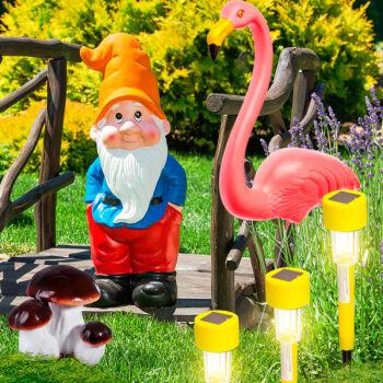 ✌ ОптоFFкa * Всё для удобного хранения — Садовый декор — Садовое освещение