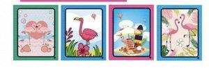 "Раскраска серия ""Фламинго"""