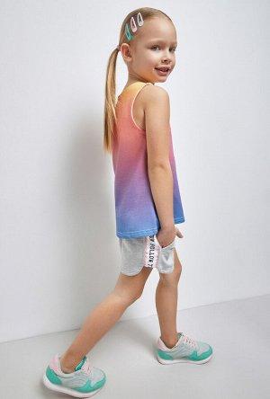 Шорты детские для девочек Akyn серый