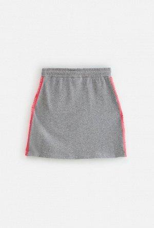 Юбка детская для девочек Faberlic серый