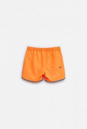 Купальные шорты детские для мальчиков Garet оранжевый