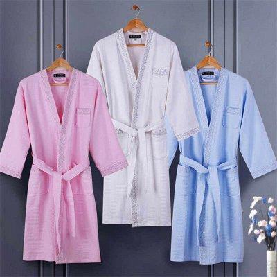 Яркие и красочные комплекты постельного белья. — Халаты и полотенца банные — Ванная