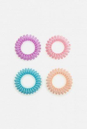 Набор из 4 резинок для волос дет. Rover цветной