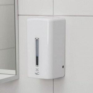 Диспенсер для антисептика/жидкого мыла, 1000 мл, сенсорный, цвет белый