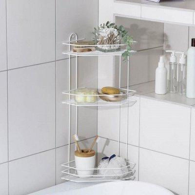 Красивая и удобная ванная — Полки для ванной комнаты