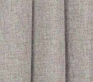 Комплект штор (2 шт*150 см) цвет серо-бежевый 100% блэкаут