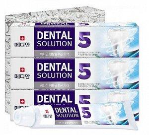 Зубная паста комплексного действия Median Dental Solution Five Toothpaste
