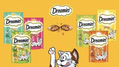 Нашим любимцам: Whiskas, Kitekat, Sheba, Pedigree, Chappi — Сухой корм для кошек DREAMIES — Корма