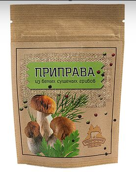 Приправа из сушеных белых грибов 30 г