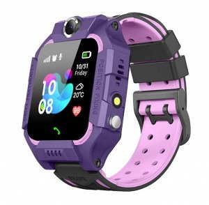 Детские смарт-часы Q19 GPS (фиолетовый)