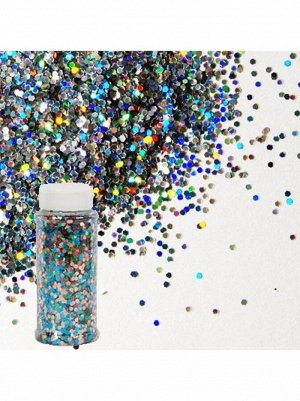 Блестки Конфетти для декора 90 гр цвет ассорти