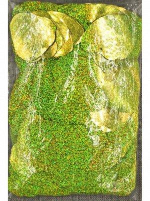 Конфетти Сердца 5,5 см голография 500 гр цвет МИКС