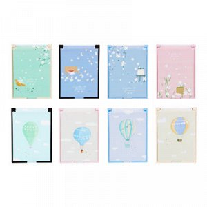 ЮниLook Зеркало карманное прямоугольное, пластик, 6,2х9,2см, 4-8 дизайнов, GC-028