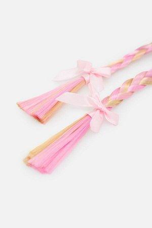 Ободок для волос детский Janae светло-розовый