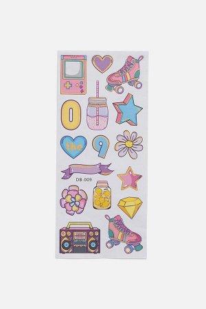 Декоративные детские наклейки Flaca цветной