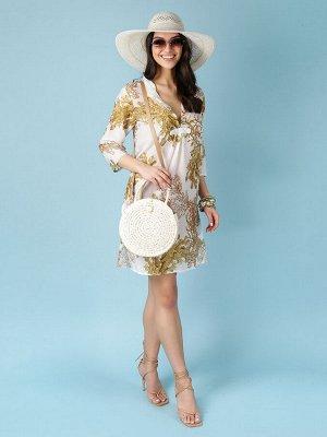 Платье 100% хлопок, FABRETTI FRT2021019-102