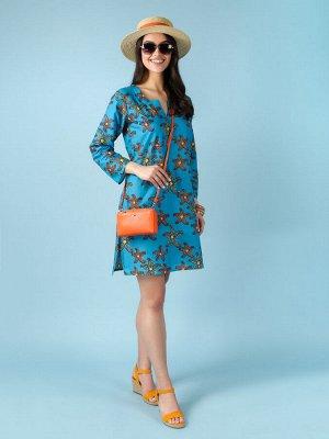 Платье 100% хлопок, FABRETTI, FRT2021012-11