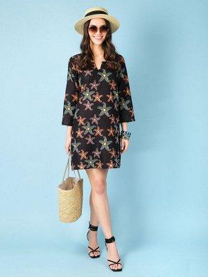 Платье 100% хлопок, FABRETTI, FRT2021011-2