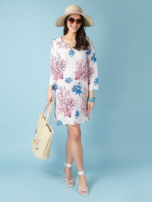 Платье 100% хлопок, FABRETTI, FRT2021008-1
