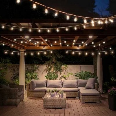 Садовые гирлянды на солнечной батарее! Невероятно красиво⭐  — Садовая солнечная гирлянда - лампочки — Садовое освещение
