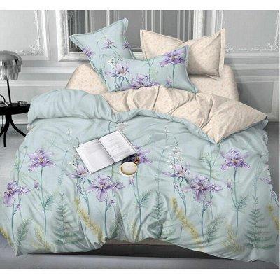 ECOLAN — домашний текстиль, яркие принты! Наматрасники — Постельное белье (сатин) - 1.5сп — Полутороспальные комплекты