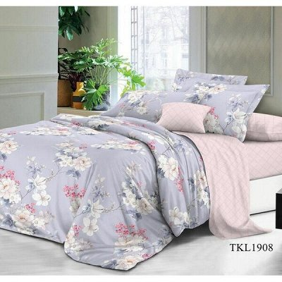 ECOLAN — домашний текстиль, яркие принты! Наматрасники — Постельное белье (сатин) - евро — Двуспальные и евро комплекты