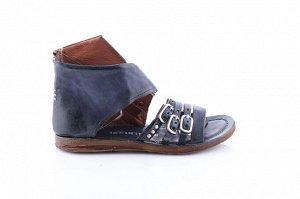Летние ботинки  AS*98 Кожа