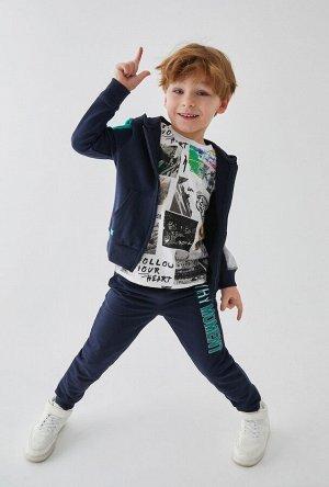 Жакет детский для мальчиков Mayer темно-синий