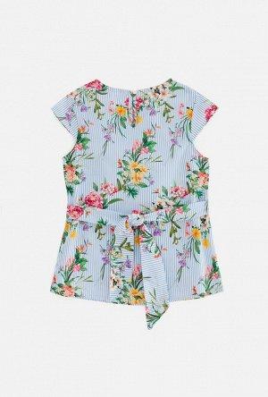 Блузка детская для девочек Selenga набивка