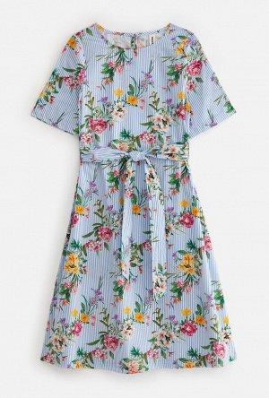 Платье детское для девочек Tobol набивка
