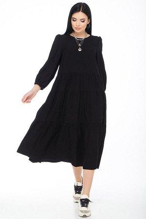 """Платье """"L-398"""" (черный)"""