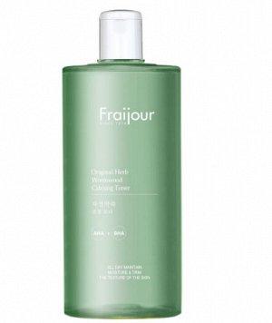 Fraijour  Слабокислотный Тонер для Комбинированной кожи лица , FRAIJOUR, Original Herb Wormwood Calming Toner, 500 мл