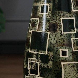 """Ваза напольная """"Нора"""". геометрия. керамика. 69 см. микс"""