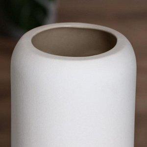 """Ваза настольная """"Будда"""". цвет белый. 31.5 см . керамика"""