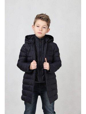Куртка BORELLI. Куртка удлинённая, очень классная, цвет темно синий, на весну-осень. Закрывает горло, капюшон. Цена глобальной распродажи!