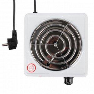 LEBEN Плитка электрическая одноконфорочная 1000Вт нагр. эл. спираль d14см