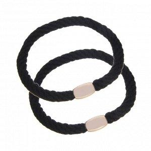BERIOTTI Набор резинок для волос 2шт, полиэстер, пластик, d5,5см, 3 цвета, 3229-10