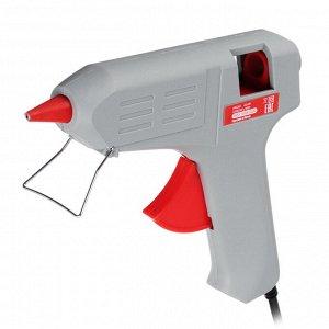 HEADMAN  Пистолет клеевой электр. GG-80, 80Вт.нагрев 3-5 мин, 9 гр/мин, +2 стержня 11мм