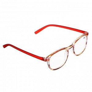 BERIOTTI Очки корригирующие, с чехлом, пластик,стекло,полиэстер, 6 диоптрий, 13,7х4см, ОК20-4