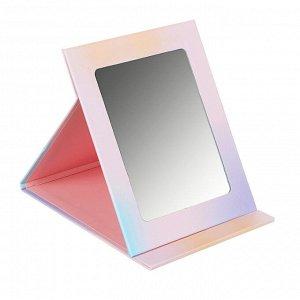 ЮниLook Зеркало настольное, трансформер, картон, 13,5x17,2см, 12 цветов