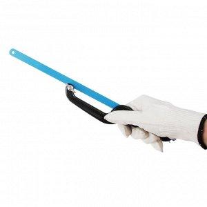 РОКОТ Ножовка по металлу малая (набор 2 предмета, держатель 200мм, полотно 310х11мм)