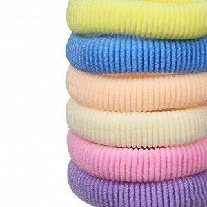 BERIOTTI Набор резинок для волос 12шт, полиэстер, 5см, разноцветные