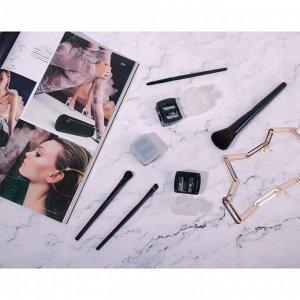 ЮниLook Точилка для косметических карандашей двойная, пластик, 4х3,5х2см, черный