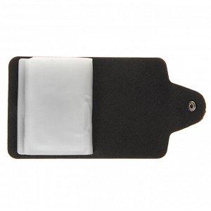 ЮL Визитница-картхолдер с фактурой питон на 26 карт , ПВХ, 10,2х7,5х1,5см