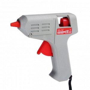 HEADMAN  Пистолет клеевой электр. GG-20, 20Вт.нагрев 3-5 мин, 6 гр/мин, +2 стержня 7мм