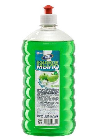 Мыло жидкое Clean Room яблоко,лимон, п/б 1000мл, БМ-311