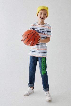 Брюки джинсовые детские для мальчиков Lanse синий