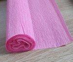 Гофра Китай, 250*50 см № 6 сиренево-розовый