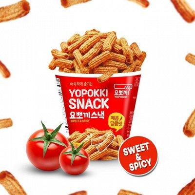 Корея, Япония- лапша, соусы, снеки, доставка 3дня — Снеки, хворост, претцели — Продукты питания